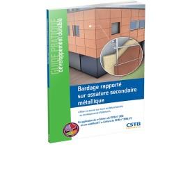 Bardage rapporté sur ossature secondaire métallique