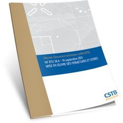 NF DTU 34.4 Mise en oeuvre des fermetures et stores