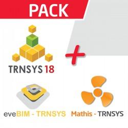 Pack TRNSYS + eveBIM + Mathis