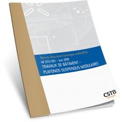NF DTU 58.1 Plafonds suspendus modulaires