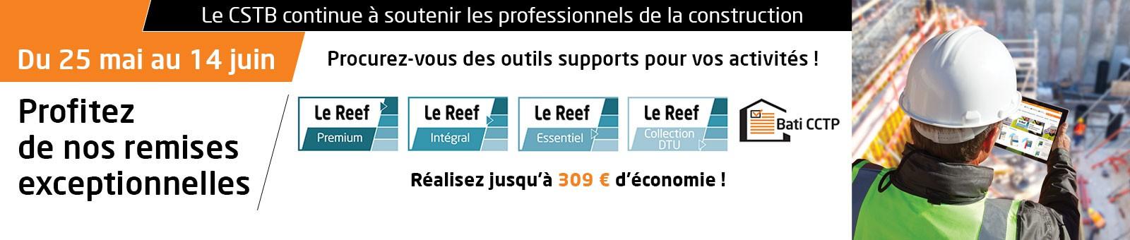 Promotion Boutique Reef et Bati CCTP