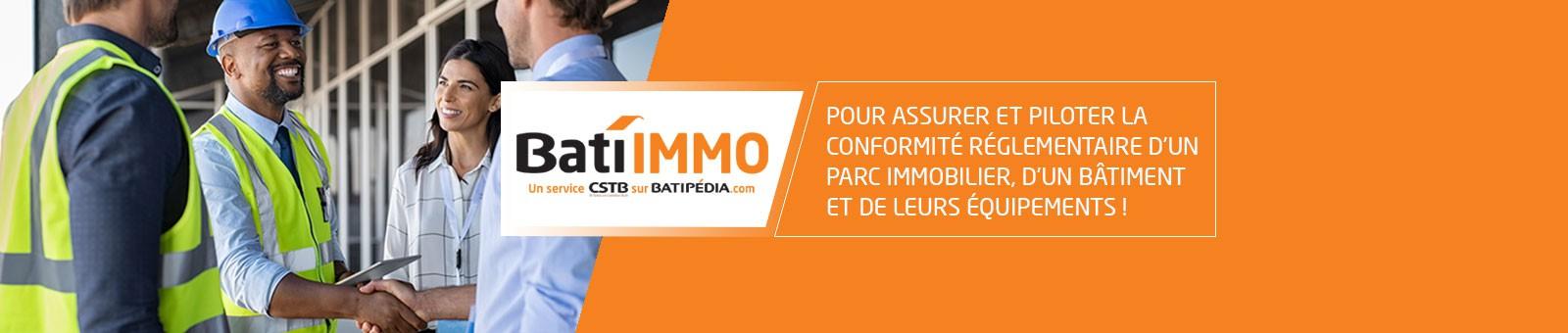 Nouveau Service en ligne BatiIMMO