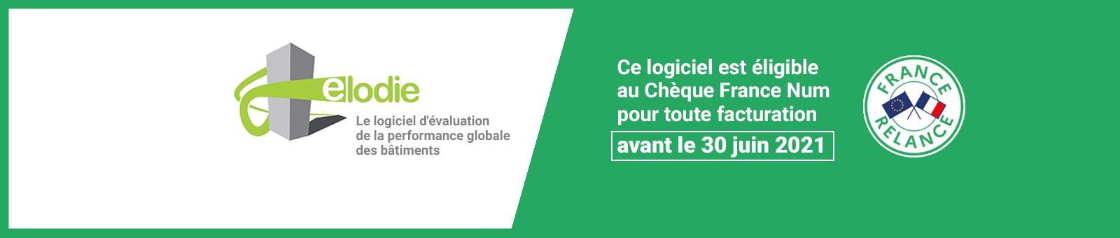 Logiciel ELODIE éligible au Chèque France Num pour toute facturation avant le 30 juin