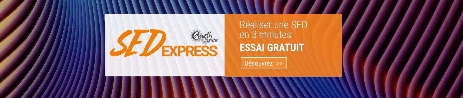 Essai gratuit SEDexpress