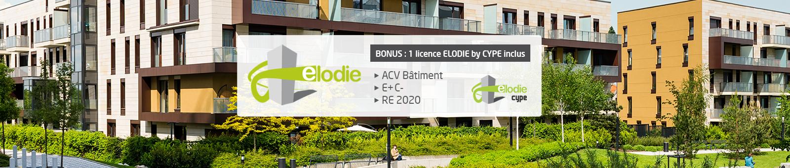 Logiciel ELODIE + ELODIE by CYPE