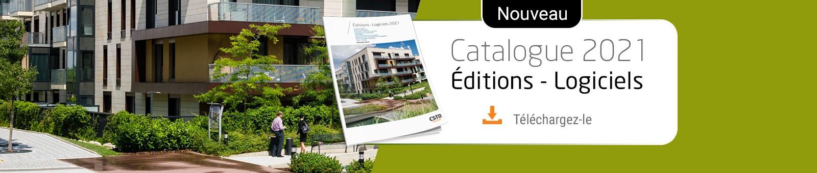 Catalogue web CSTB Editions et Logiciels 2021