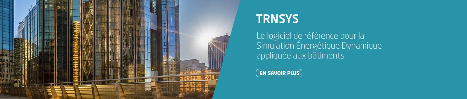 TRNSYS, le logiciel de référence pour la SED